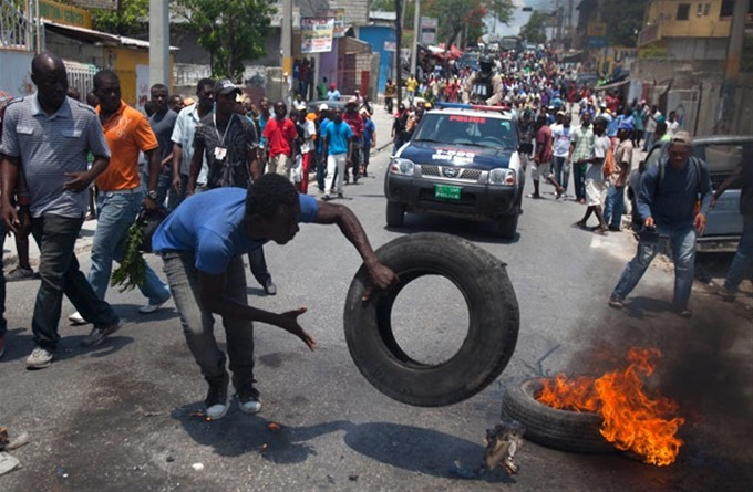 Marcha contra Martelly